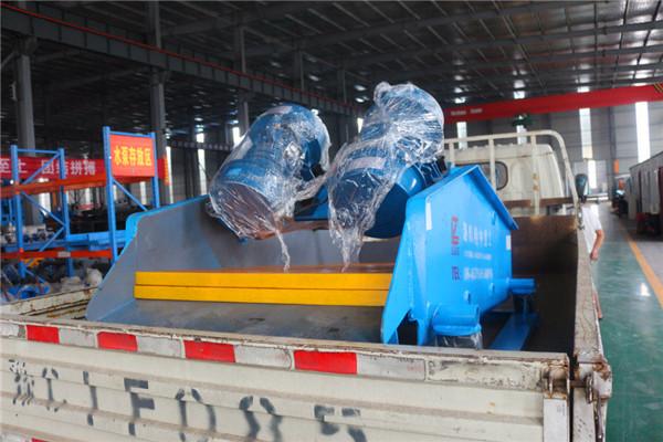石灰石生产质量、产量双丰收就选时产100立方TS1530脱水筛