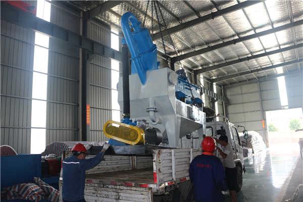 隆中9月6号发货河北邢台LZ350细沙回收脱水筛